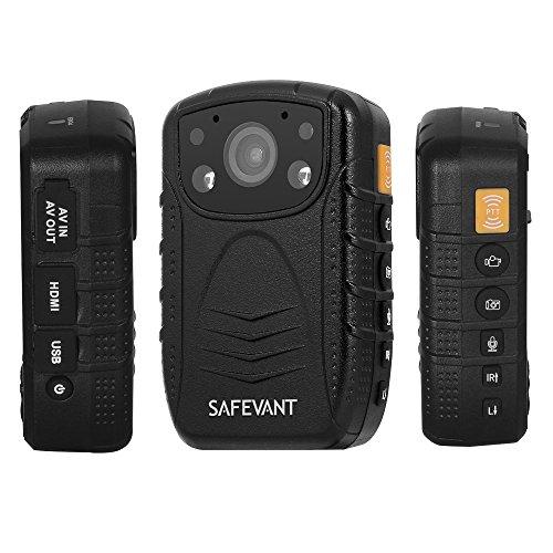Safevant 1296P HD Police Body Camera, Multi-functional Body