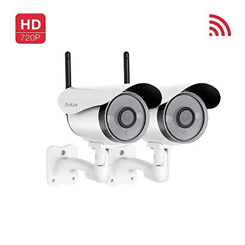 Funlux 720p HD Wireless Smart Home Day Night Security