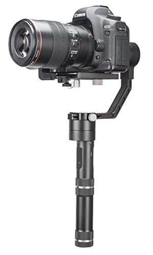 Black – Zhiyun Smooth-Q 3 Axis Handheld Gimbal for Smartphone Up to