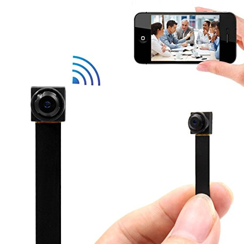 AOBO Hidden Spy Camera 720P Wireless WiFi Nanny Cam Mini Portable