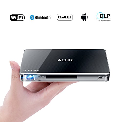 Mini Projector Portable Pico Video Projector for iPhone and