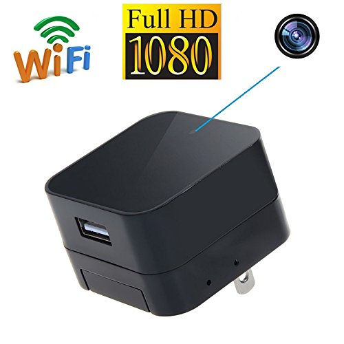 ALON HD 1080P WIFI USB Charger Camera Mini Covert Wireless