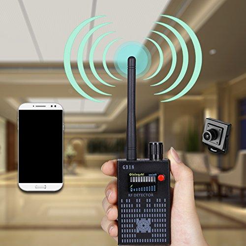 JMDHKK Anti Spy RF detector wireless Bug detector signal for