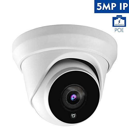Hikvision Compatible Anpviz 5MP H 265 IR Dome IP Camera PoE, IP